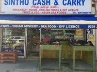 SINTHU CASH & CURRY IN NEW SOUTHGATE , REF: LB270