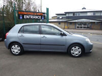 Toyota Corolla 1.4 VVT-i T2 5 Door Hatch Back