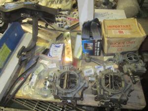 GM 327 283 Carburetor. Chevrolet 305 350 Aluminum intake