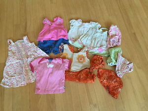 SUMMER CLOTHES 6 to 9 MONTH GIRL $10