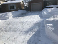 Snow Removal ..... Blowing Your Problems Away