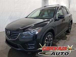 Mazda CX-5 GT Tech AWD GPS Cuir Toit Ouvrant MAGS 2016