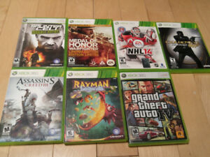 XBOX 360 GAMES ALMOST ALL OF THEM $5