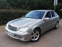 2005 Mercedes-Benz C Class 2.1 C220 CDI Avantgarde SE 4dr