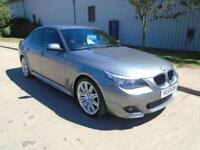 BMW 520 2.0 DIESEL AUTOMATIC M SPORT BUSINESS EDITION SAT NAV LEATHER