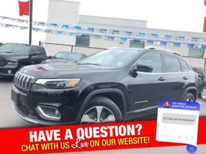 2019 Jeep Cherokee limited 4x4 | apple car play | leather | back