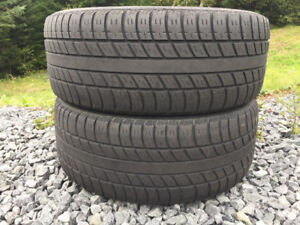 Two 225/55R17 Summer Tires Great Tread