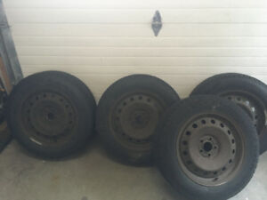 RoadJoy 235/60/R18 Winter Tires for sale on rims