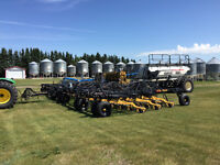 2013 64' SEEDMASTER DRILL W/ BOURGAULT 6550, ULTRAPRO, LOADED