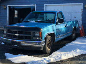 Antique Chev 1/2 Truck for Sale!