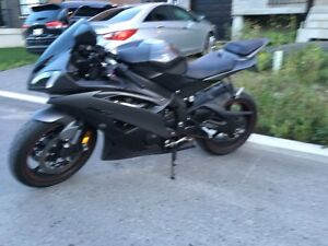 Yamaha r6 2013 noir mat