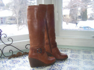 Leather Tall Boot