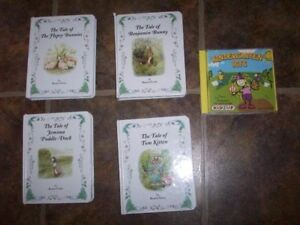 Beatrix Potters Books and CD