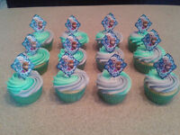 Frozen Cupcakes-Peanut Free