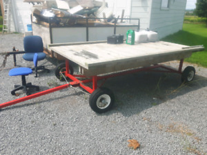 Oversized yard cart