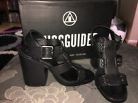 Missguided block heel shoes