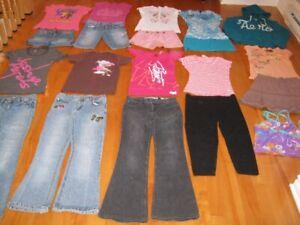 Lot vêtements fille taille 12 ans