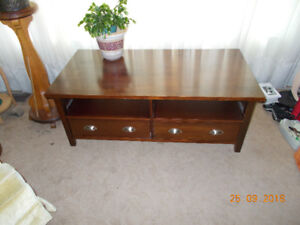 Nice coffee table with drawers
