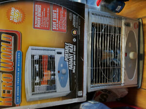 Kero World portable Kerosene Heater 10k btu