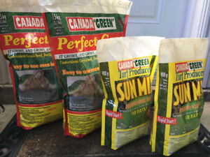 Canada Green Perfect Grass Seed 4 Bags