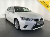 2015 LEXUS CT 200H ADVANCE PLUS AUTOMATIC HYBRID 1 OWNER SERVICE HISTORY
