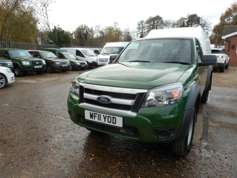 2011 Ford Ranger Xl 4x4 2 5 Tdci Single Cab Pick Up With