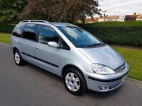 FORD GALAXY 1.9 TDi GHIA - 5 DOOR - 2006 - SLIVER ** 7 SEATER **