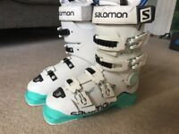 Ladies ski boots - Salomon XMax 90 size 24.5