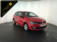 2013 63 VOLKSWAGEN POLO MATCH EDITION 1 OWNER SERVICE HISTORY FINANCE PX