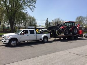 Transport equipement agricole tracteur