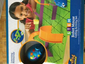 Learning Resources Robot Mouse Coding Toy Activity Set