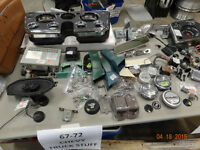 miscellaneous 1967-1972 chevy truck parts ,interior only $2-100
