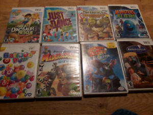 Wii Games in Good Condition