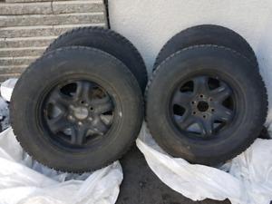 245 70 r17 pneus hiver