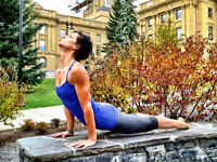 Private personal fitness training and yoga downtown