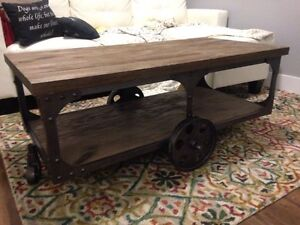 SOLD - Cart Style Coffee Table  St. John's Newfoundland image 1