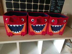 Monster storage containers