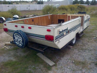1998 UTILITY ATV TRAILER  WITH HAND WINCH