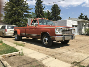 1977 Dodge Adventurer D30 Survivor