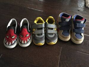 Boys size 8 toddler shoes