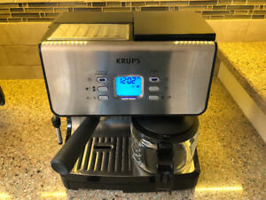 Krupps XP2070 Espresso and Drip Coffee Maker