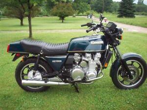 Recherche moto Kawasaki KZ1300 pour pieces,projet ou fonctionnel
