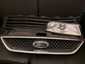 Ford Galaxy Mk3 (2009 on) Front Radiator Grille & Badge Genuine + Land