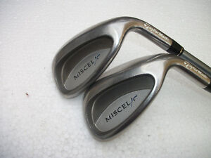 LADIES TAYLOR MADE MISCELA PW AND SAND WEDGE R.H.