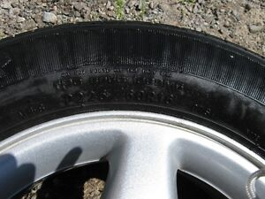 Goodyear Integrity 225/60r16 97s tires, excellent condition (4) Peterborough Peterborough Area image 5