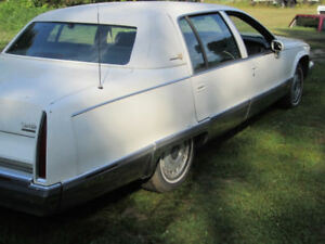 PARTING out 1993 CADILLAC BROUGHAM
