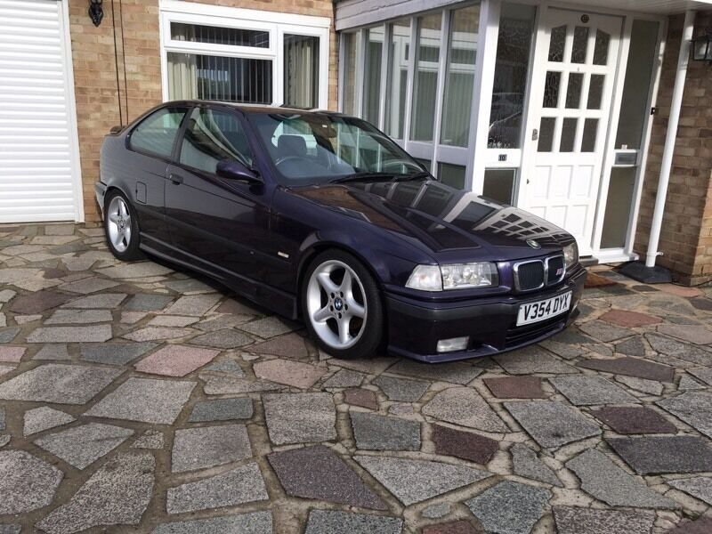 bmw e36 compact 318 genuine m sport techno violet in orpington london gumtree. Black Bedroom Furniture Sets. Home Design Ideas