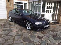 BMW E36 COMPACT 318 GENUINE M SPORT ,TECHNO VIOLET