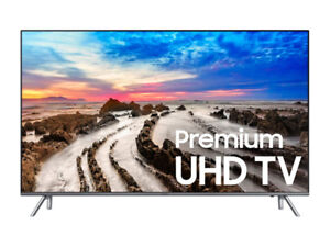 """New Samsung 82"""" 4K HDR LED smart tv UN82MU8000 + FREE DELIVERY!!"""
