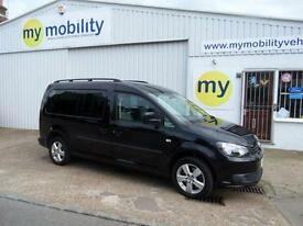 Volkswagen Caddy Maxi Wheelchair Accessible Automatic WINCH 5 Seat Allied WAV